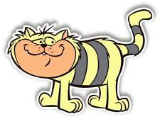 Hong Kong Phooey Cat Cartoon Sticker laptop wall car phone Kids Child