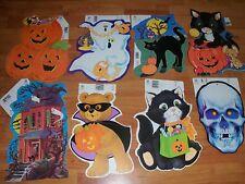 Vintage Eureka Decorations Halloween Diecuts Cutouts U Pick NOT a LOT