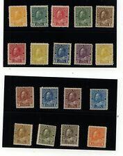 Canada 104-122 Mint nice set catalog $1,020.00 LOOK