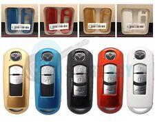 Mazda 2 3 4 5 6 MX5 CX7 CX9 CX3 CX5 Schlüssel Hülle Metallic chiave cle key