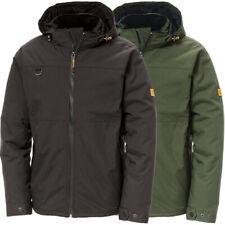 CAT Workwear Mens Chinook Waterproof Nylon Hooded Full Zip Jacket