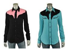 Women's Ralph Lauren RRL Vintage Modal Western Shirt New $225