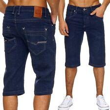Neu Herren Jeans klassische herrenshorts verwaschen Hose shorts sommer Top 3/4