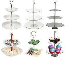 2 3 4 Tier Pastry Pie Decorative Stand Wedding Cake Cupcake Platform Plate NEW
