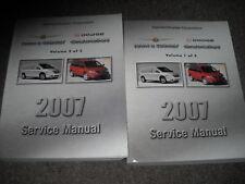 2007 Dodge Caravan Chrysler Town & Country Service Shop Repair Manual Set