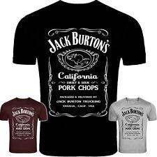 """Big Trouble in Little China """"Jack Burton Les Côtelettes de porc"""" Inspiré T-shirt NOUVEAU"""