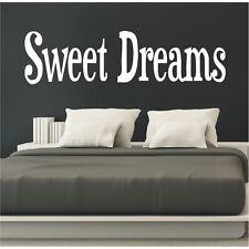 Wandtattoo Spruch Sweet dreams Schlafzimmer Sticker Wandsticker Aufkleber  1