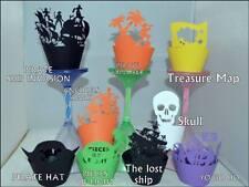 Tema Pirati Party cupcake Wrappers x12 in modo univoco per visualizzare le CUPCAKES