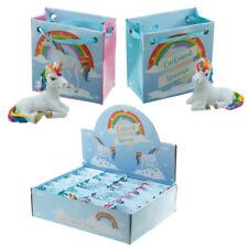 Einhorn magischer Regenbogen Einhorn Mini Figur Figürchen Glücksbringer 2 Farben