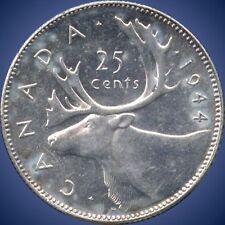 1944 Canada 25 Cent Silver Coin ( 5.83 Grams .800 Silver )
