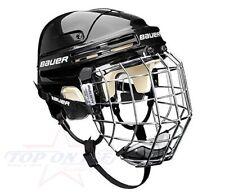 Hockey su Ghiaccio Casco Bauer 4500 Anziani Combinato