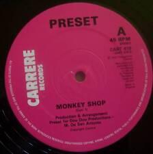 "PRESET ~ Monkey Shop ~ 12"" Single"