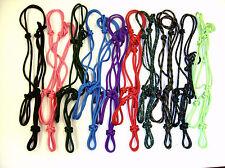 "LARGE HORSE/ WARMBLOOD 1/4"" Rope HALTER yacht rope  U pick color"