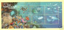 Australia Sc 1465 Mnh. 1995 Marine Animals Souvenir Sheets (10), Vf