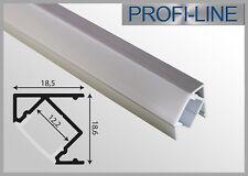 8,90 €/m LED Alu Profil Winkelprofil Typ K Winkel Eck Schiene Leiste 1m oder 2m