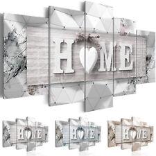 Wandbilder xxl Wohnzimmer Home Herz abstraktes Leinwand Bilder 3D m-C-0251-b-n