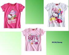 T-Shirt  HELLO KITTY Shirt 3 Modelle  140-140  NEU