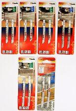 2er Set KWB Stichsägeblätter Metallbearbeitung HSS gehärtet Metall ++AUSWAHL++