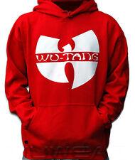 Wu-Wear Wu-Tang Logo Hoody Red Rosso Wu-Tang Clan M-XXL kaputzenpullover NUOVO NEW