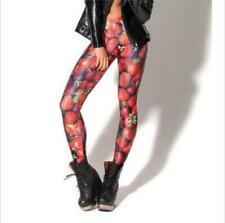 Woman Slim Legging Strawberry Printed legging S-4XL Elastic legging