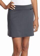 Women's Zelos Basic Solid Skort Slate Gray