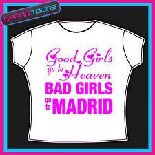 Madrid Niñas vacaciones Hen party Impreso Camiseta
