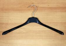 Kleiderbügel Bügel Kunststoff 38 cm Schwarz Wäschebügel Garderobenbügel KB07