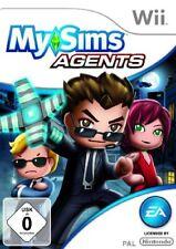 Nintendo Wii Spiel - My Sims: Agents (mit OVP)