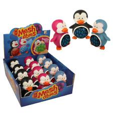Penguin meshables-NV315 Squeezy Squishy malla Ball estrés del Socorro diverti Kids Play