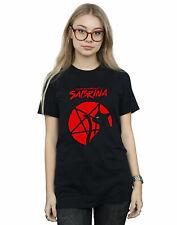 The Chilling Adventures Of Sabrina Women's Salem Pentagram Boyfriend Fit T-Shirt