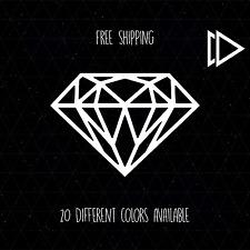 Diamond Shape Vinyl Decal Sticker Car Laptop Macbook Pro - Geometric Pattern