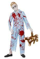 FANCY DRESS COSTUME # BOYS HALLOWEEN ZOMBIE PYJAMA BOY AGES 7-13 YEARS