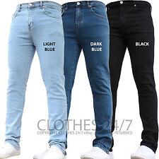 Bnwt homme neuve de la marque stretch slim denim jeans pantalon tous tour de taille & tailles