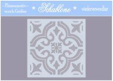 Schablone-Vintage-Shabby-Fliese-Orient-Marocco-7137