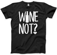 Vino non? alcol REGALO AMANTE Vino Regalo Unisex Uomo T-Shirt