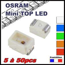 5 à 50pcs LED CMS OSRAM mini TOP LED (TL) dispo blanc, rouge, orange, vert, bleu