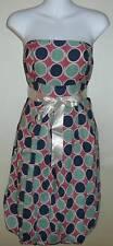 S.A.N.D. STUDIO Polka Dot Pleated Ribbon Tube Dress - Small & Large - New!