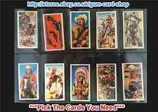 Burton's Wagon Wheels - Wild West Action 1972 (G) Please Select Card