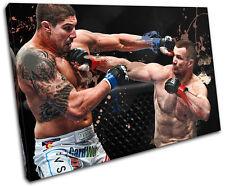 MMA Mirko CroCop Filipovic Sports SINGLE CANVAS WALL ART Picture Print VA