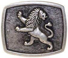 Fron Hofer Trachten cintura fibbia bavarese leone argento fibbia 4 cm