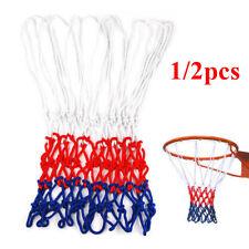 Standard 12 Hoop Durable Nylon Basketball Goal Hoop Net Red/White/Blue Sports UK