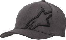 Alpinestars Corp Shift 2 Curved Peak Flexfit Cap Hat Dark Heather Grey-Black