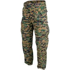 USMC US Marines Trousers Helikon Army Military Mens Pants Digital Woodland Camo