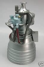 Rl-10 Pr 00004000 att-Whitney Rocket Engine Mahogany Kiln Dry Wood Model Large New