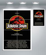 JURASSIC Park vintage movie poster géant Mur Art Print