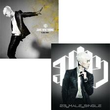 2PM JANG WOOYOUNG [23,MALE,SINGLE] 1st Mini Ablum CD+Photobook+Card K-POP SEALED