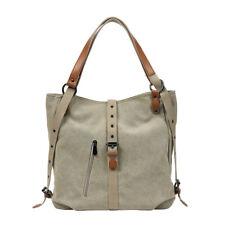 Fashion Canvas Tote Bag Women Handbag Leisure Shoulder Bag Travel Backpack