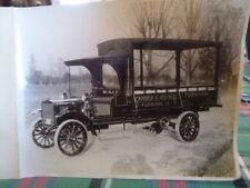 ORIG 1914 Service Truck Photo Sander Indiana Furniture