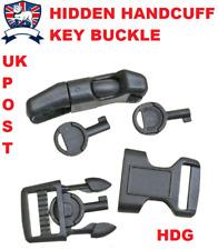 Menottes Key Covert Hidden e&e Paracord Bracelet Boucle 5/8 15 Mm Broche de verrouillage EDC