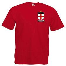 Inglaterra Copa Del Mundo 2018 adultos inspirado Camiseta 12 Colores para Hombre Talla S - 3XL